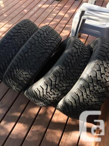 225/60R17 Goodyear Nordic tires