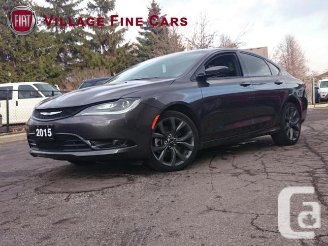 $23,597 Used 2015 Chrysler 200 S