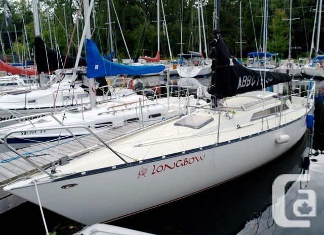 $23,900 1982 Abbott Yachts, Sarnia. Abbott 33 Boat for
