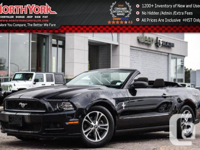 $23,994 Used 2014 Ford Mustang V6 CONVERTIBLE KEYLESS