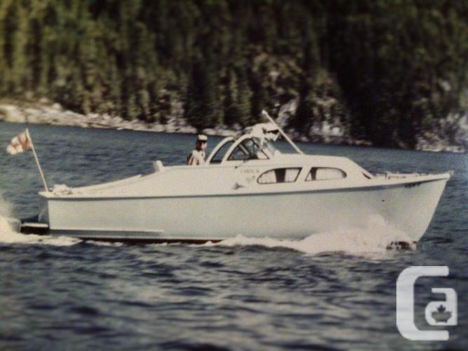 23ft Classic Cabin Cruiser for sale in Victoria British