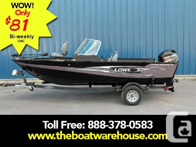 $24,263 2015 Lowe Boats FM165 Pro WT Boat for Sale