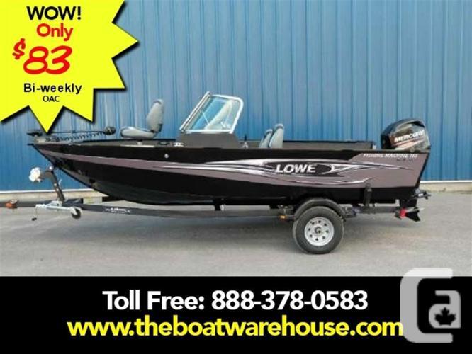 $24,999 2016 Lowe Boats FM165 Pro WT Boat for Sale