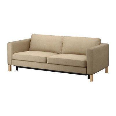 $240 Ikea COVER for KARLSTAD Sofa Bed Slipcover - Lindö