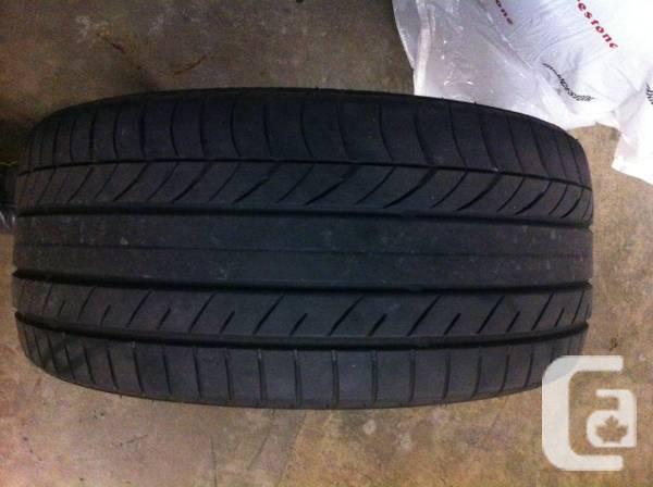245/40R18 Yokohama Advan A13 performance summer tires -