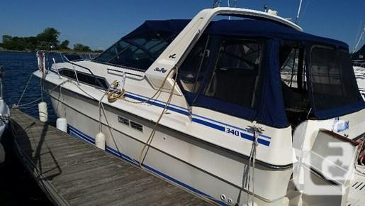 $25,900 1986 Sea Ray 340 Weekender Boat for Sale