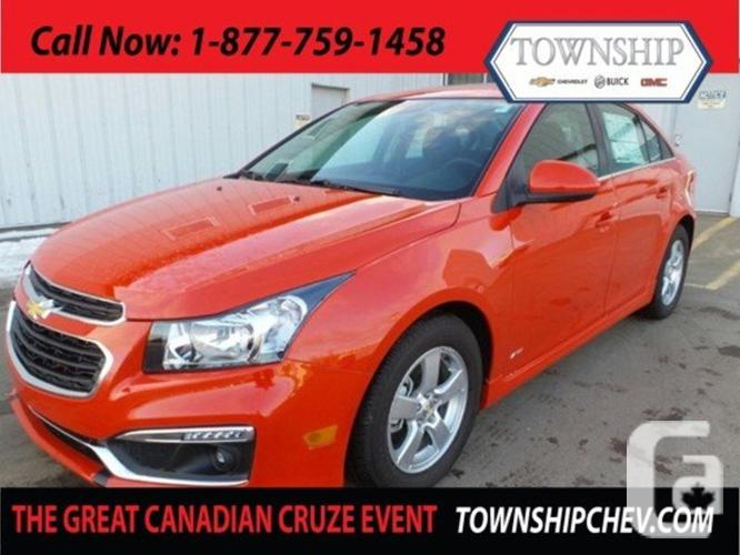 $25,970 Weekly New 2015 Chevrolet Cruze LT - Sunroof -