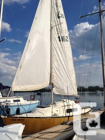 25' Upper Sailboat berthing incorporated, prepared to