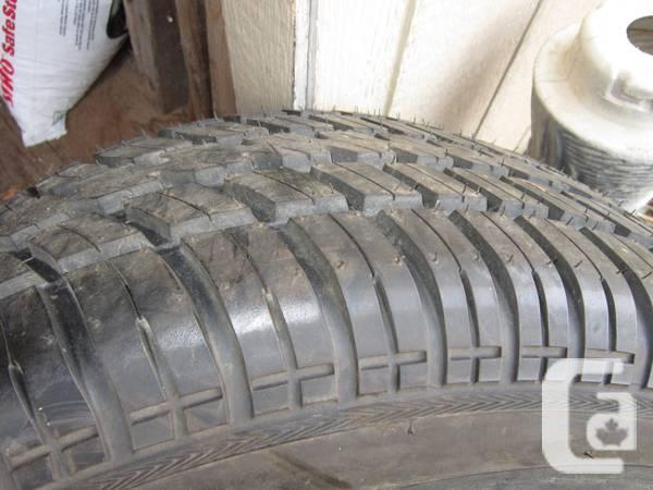 * 255/60R15 Cooper Cobra Tire * White Letter