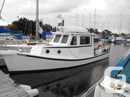 $26,500 1994 Custom Built 33' Steel Glen-L Lobster Boat
