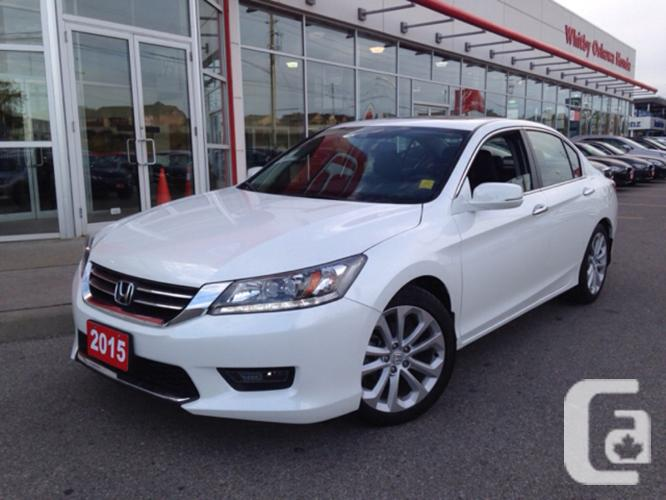 used 2015 honda accord sedan touring for sale in whitby ontario classifieds. Black Bedroom Furniture Sets. Home Design Ideas