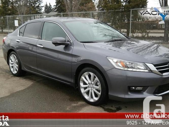 24 Used Cars In Edmonton Ab Alberta Honda: Used 2014 Honda Accord Sedan Touring For Sale In Edmonton