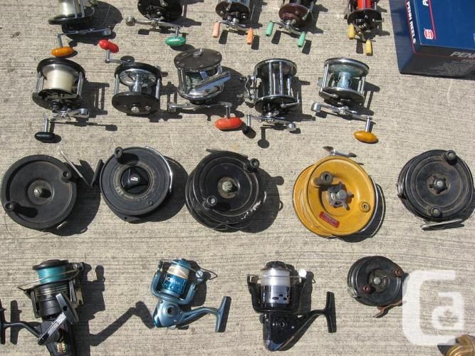 28 Fishing reels take them all for $30