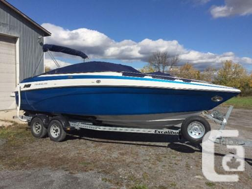 $29,900 2004 Crowline 230 BR with Trailer Boat for Sale