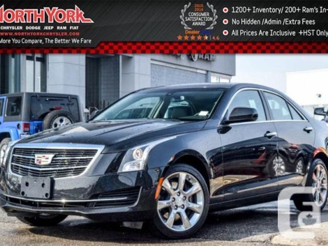 $29,994 Used 2015 Cadillac ATS Sedan AWD Sunroof