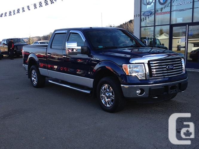 $29,995 Used 2011 Ford F-150 XTR SuperCrew 6.5-ft. Bed