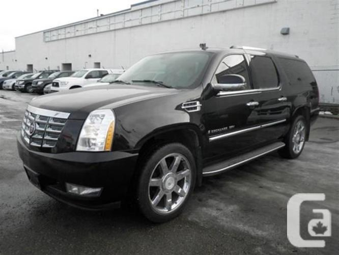 used 2007 cadillac escalade esv base for sale in calgary alberta classifieds. Black Bedroom Furniture Sets. Home Design Ideas