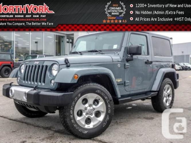 $29,998 Used 2015 Jeep Wrangler Sahara 4x4 Dual top