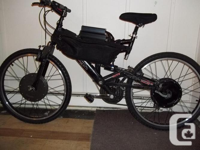 2WD Electrical Mountain Bike (dual suspension)