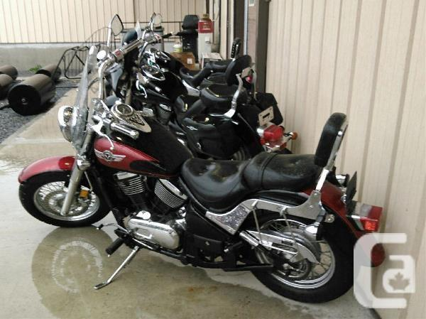 $3,050 1999 Kawasaki Vulcan 800 Classic Motorcycle for
