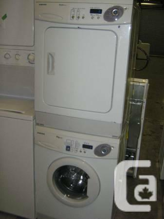 3 5 Yr Old Samsung Apartment Size Compact Washer Dryer 24 Wide 500 In Vancouver British Columbia For Sale
