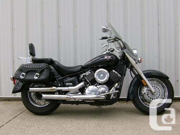 $3,995 2003 Yamaha V Star 1100 Silverado Motorcycle for