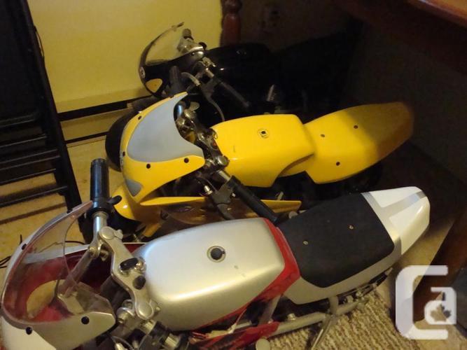 3 - Honda Mini Moto electric pocket bikes.