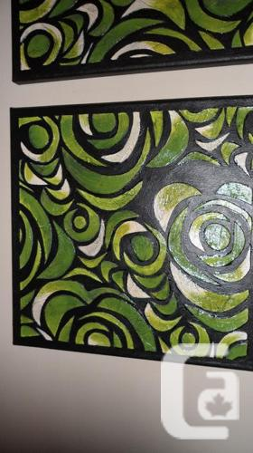 3 Piece Canvas Artwork Set