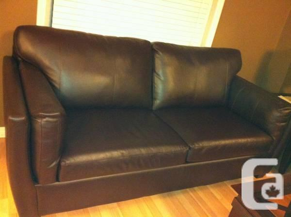 3 Seater leather sofa - $650