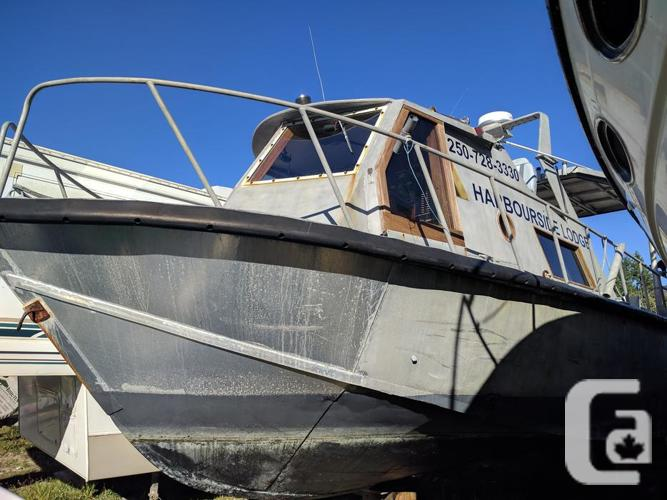 30' Aluminum crew boat