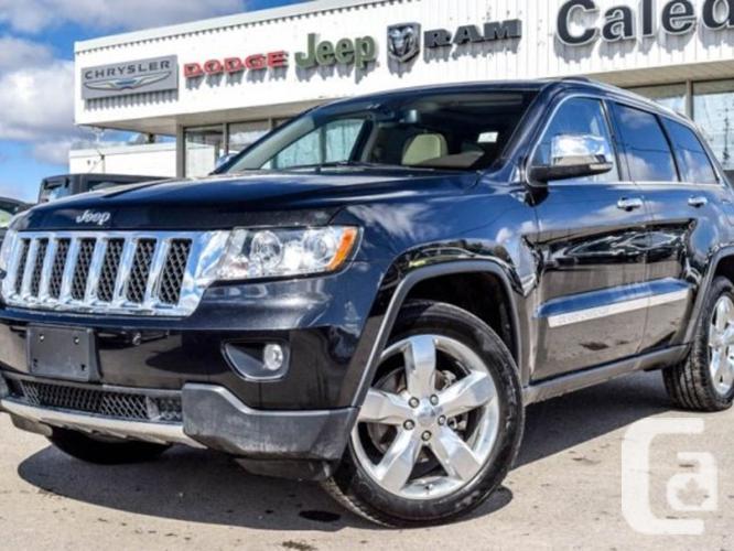 $30,413 Used 2012 Jeep Grand Cherokee Overland 4x4 Navi
