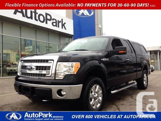 $30,788 Used 2014 Ford F-150 XLT 4X4 BLUETOOTH REVERSE