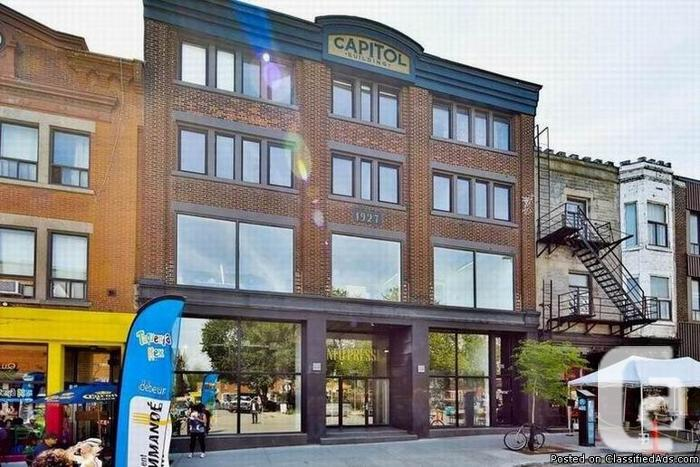 3000 sq.ft commercial office Plateau Mont-Royal
