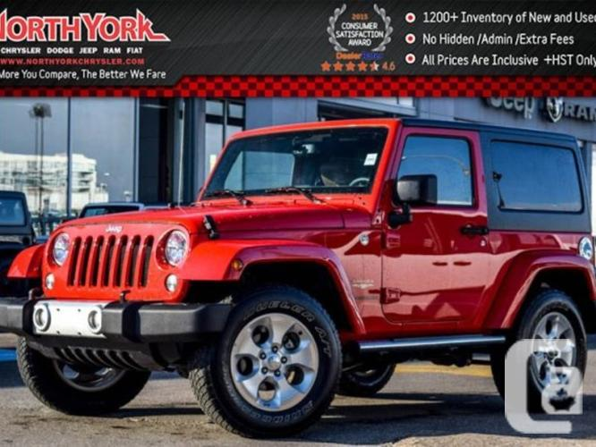 $31,994 Used 2015 Jeep Wrangler Sahara 4x4 Hard Top