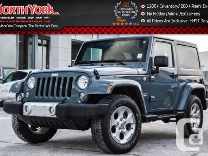$31,995 Used 2015 Jeep Wrangler Sahara 4x4 Hard Top