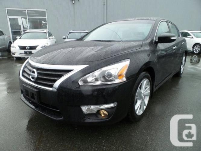 used 2015 nissan altima 2 5 sl w leather seats and navigation for sale in nanaimo british. Black Bedroom Furniture Sets. Home Design Ideas