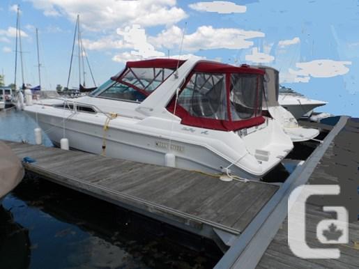 $32,900 1991 Sea Ray 310 Sundancer Boat for Sale