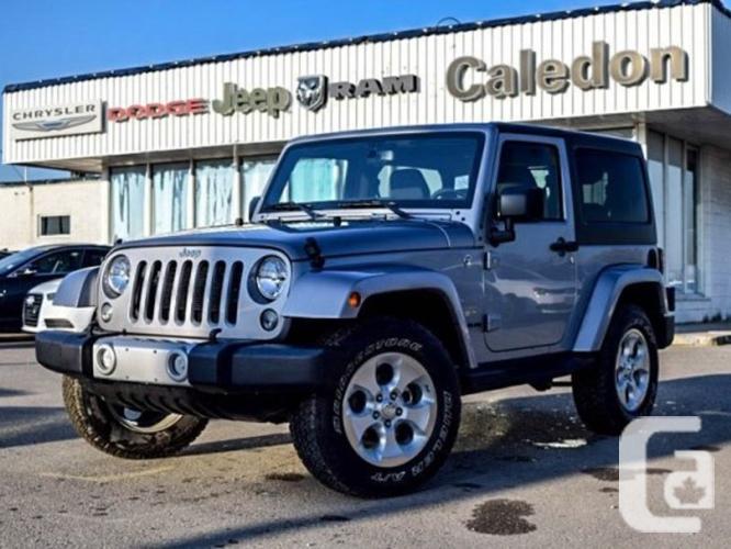 $32,996 Used 2015 Jeep Wrangler Sahara 4x4 Hard Top Nav