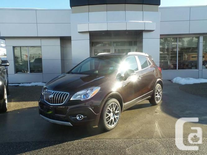 2016 buick encore sport touring 0ft for sale in kelowna british columbia classifieds. Black Bedroom Furniture Sets. Home Design Ideas