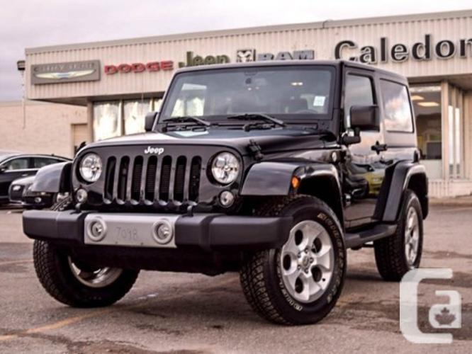 $33,498 Used 2015 Jeep Wrangler Sahara 4x4 Hard Top