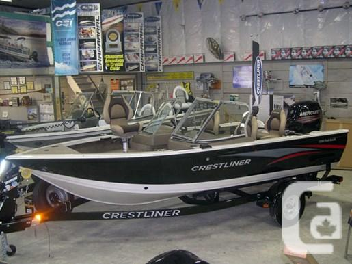 $34,500 2015 Crestliner 1750 Fish Hawk Boat for Sale