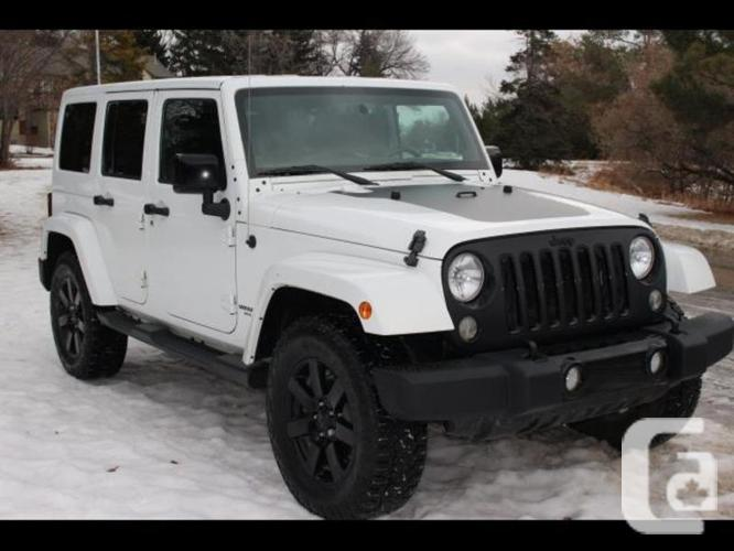 used 2014 jeep wrangler unlimited sahara leather navigation for sale in edmonton alberta. Black Bedroom Furniture Sets. Home Design Ideas