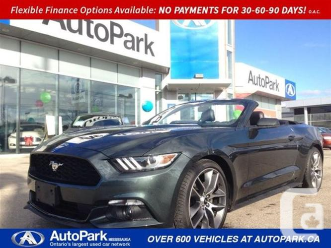 $34,900 Used 2015 Ford Mustang EcoBoost Premium