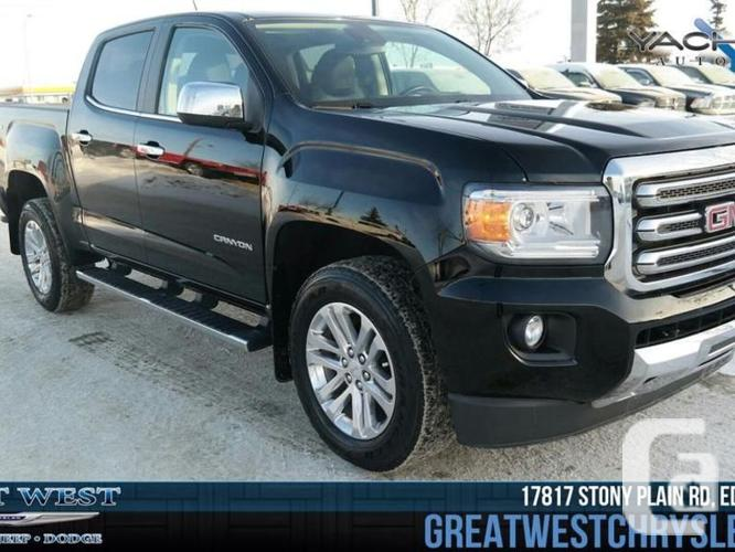 used 2015 gmc canyon 4wd slt for sale in edmonton alberta classifieds. Black Bedroom Furniture Sets. Home Design Ideas
