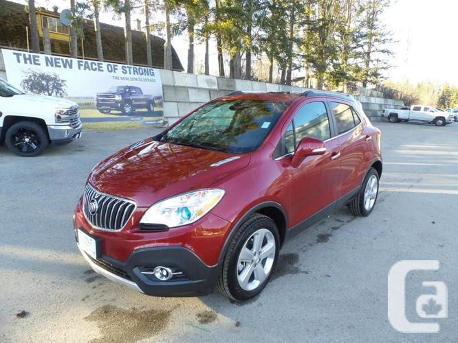 2016 buick encore awd cx 0ft for sale in salmon arm british columbia classifieds. Black Bedroom Furniture Sets. Home Design Ideas
