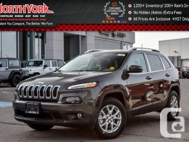$35,498 New 2016 Jeep Cherokee North New 4x4 Backup Cam