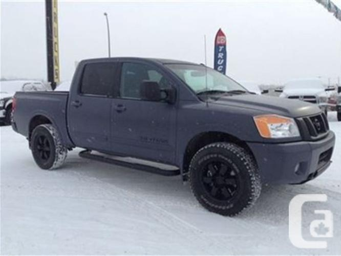 used 2013 nissan titan pro 4x for sale in edmonton alberta classifieds. Black Bedroom Furniture Sets. Home Design Ideas