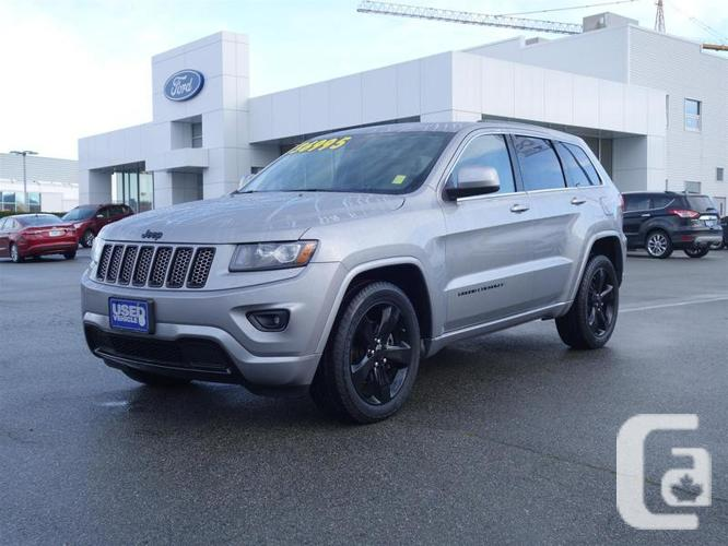 used 2014 jeep grand cherokee laredo 4wd altitude package for sale in richmond british columbia. Black Bedroom Furniture Sets. Home Design Ideas