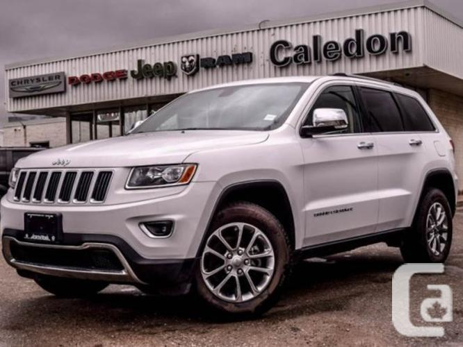 $36,998 Used 2015 Jeep Grand Cherokee Limited 4x4