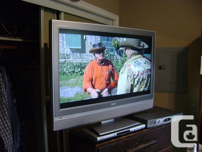 "37"" Toshiba Wide Screen  HD television with remote."
